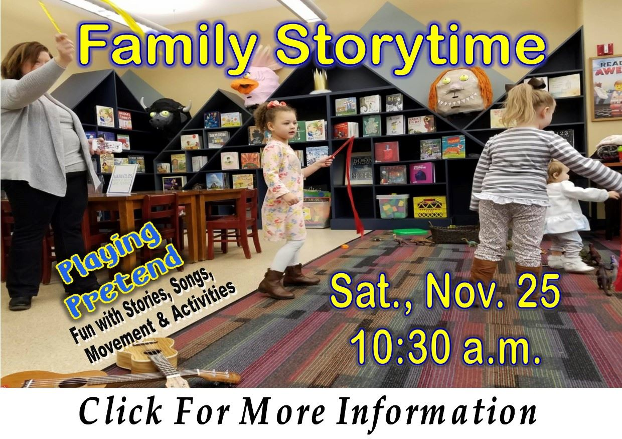Family Storytime  Sat November 25 2017 (Feature)