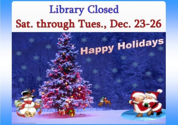 Christmas Holiday Closed (Feature)