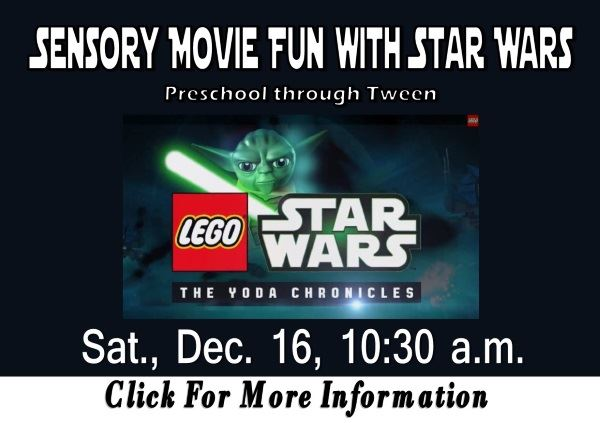 Sensory Movie Fun Star Wars Dec 16, 2017 (Feature)