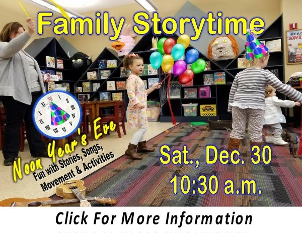 Family Storytime  Sat December 30 2017 (Feature)