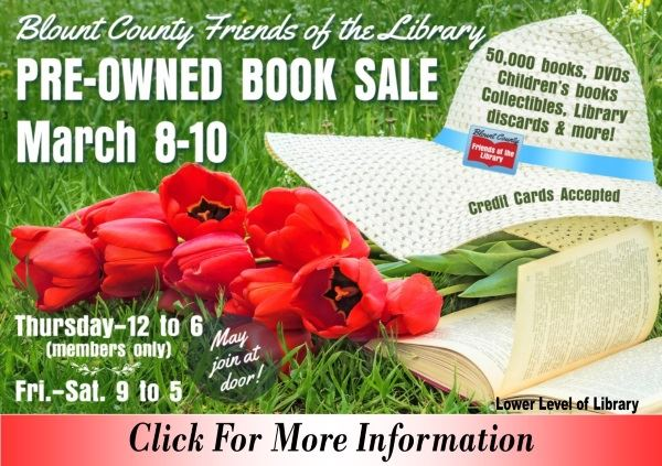 Booksale March 8 9 10 2018 (Feature)