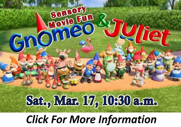 Gnomeo and Juliet March 17 2018 (Feature)