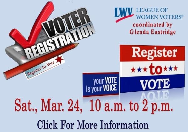 Voter Registration  - March 24 2018 (Feature)